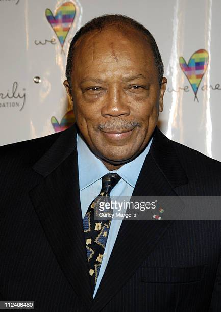 Quincy Jones during We Are Family Foundation To Honor Sir Elton John Quincy Jones Tommy Hilfiger and The Comcast Family of Companies at The Manhattan...