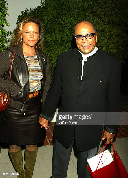 Quincy Jones Jolie Jones during Stella McCartney Los Angeles Store Opening Arrivals at Stella McCartney Store in Los Angeles California United States
