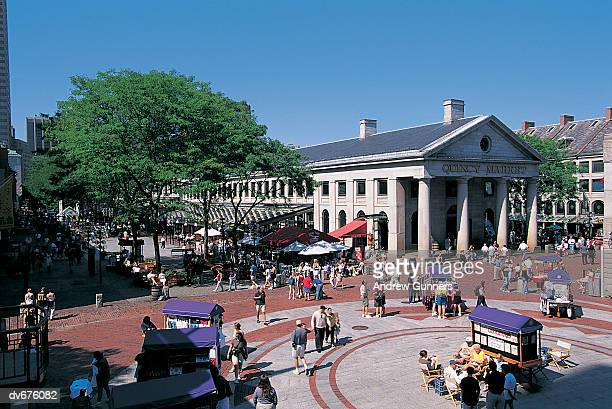 Quincy Market, Boston, Massachusetts, USA