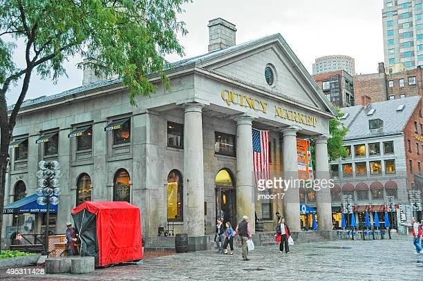 Quincy Market Heart of Boston's Visitors Destination