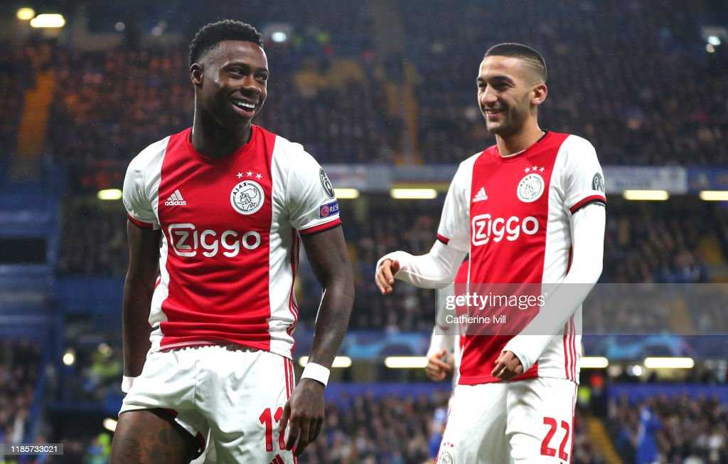 Chelsea FC v AFC Ajax: Group H - UEFA Champions League : ニュース写真