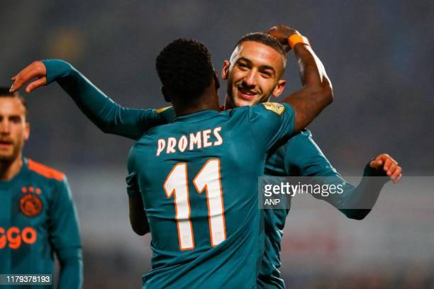 Quincy Promes of Ajax during the Dutch Eredivisie match between PEC Zwolle and Ajax Amsterdam at the MAC3Park stadium on November 01, 2019 in Zwolle,...
