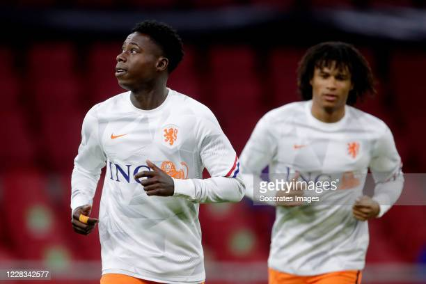 Quincy Promes of Holland during the UEFA Nations league match between Holland v Poland at the Johan Cruijff ArenA on September 4, 2020 in Amsterdam...