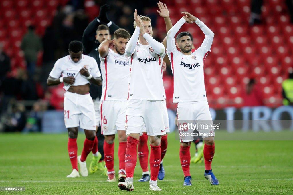 Athletic de Bilbao v Sevilla - Spanish Copa del Rey : Fotografía de noticias