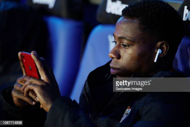 Quincy Promes of Sevilla FC during the La Liga Santander match between Deportivo Alaves v Sevilla at the Estadio de Mendizorroza on December 2 2018...