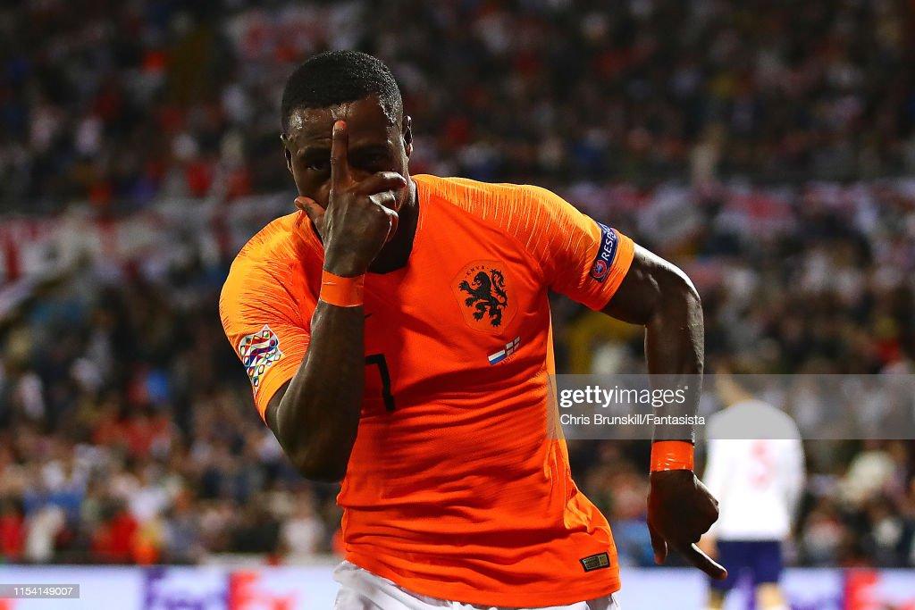 Netherlands v England - UEFA Nations League Semi-Final : ニュース写真