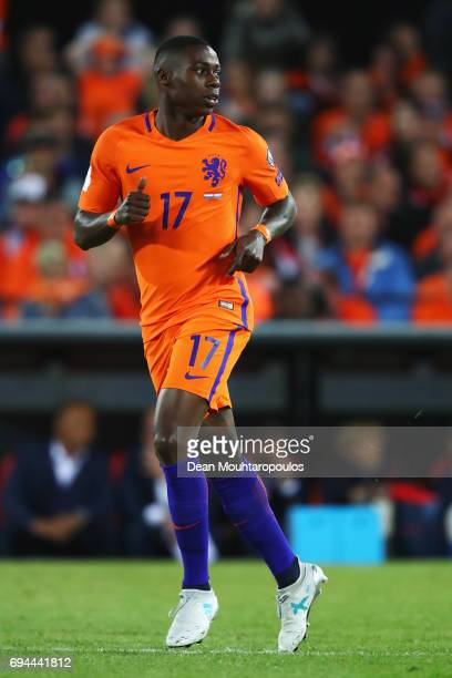 Quincy Promes of the Netherlands in action during the FIFA 2018 World Cup Qualifier between the Netherlands and Luxembourg held at De Kuip or Stadion...