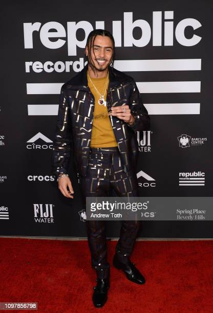 Quincy Taylor Brown attends Republic Records Grammy after party at Spring Place Beverly Hills on February 10 2019 in Beverly Hills California