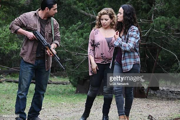 SOUTH 'Quinientos Mil' Episode 112 Pictured Justina Machado as Brenda Alice Braga as Teresa Mendoza