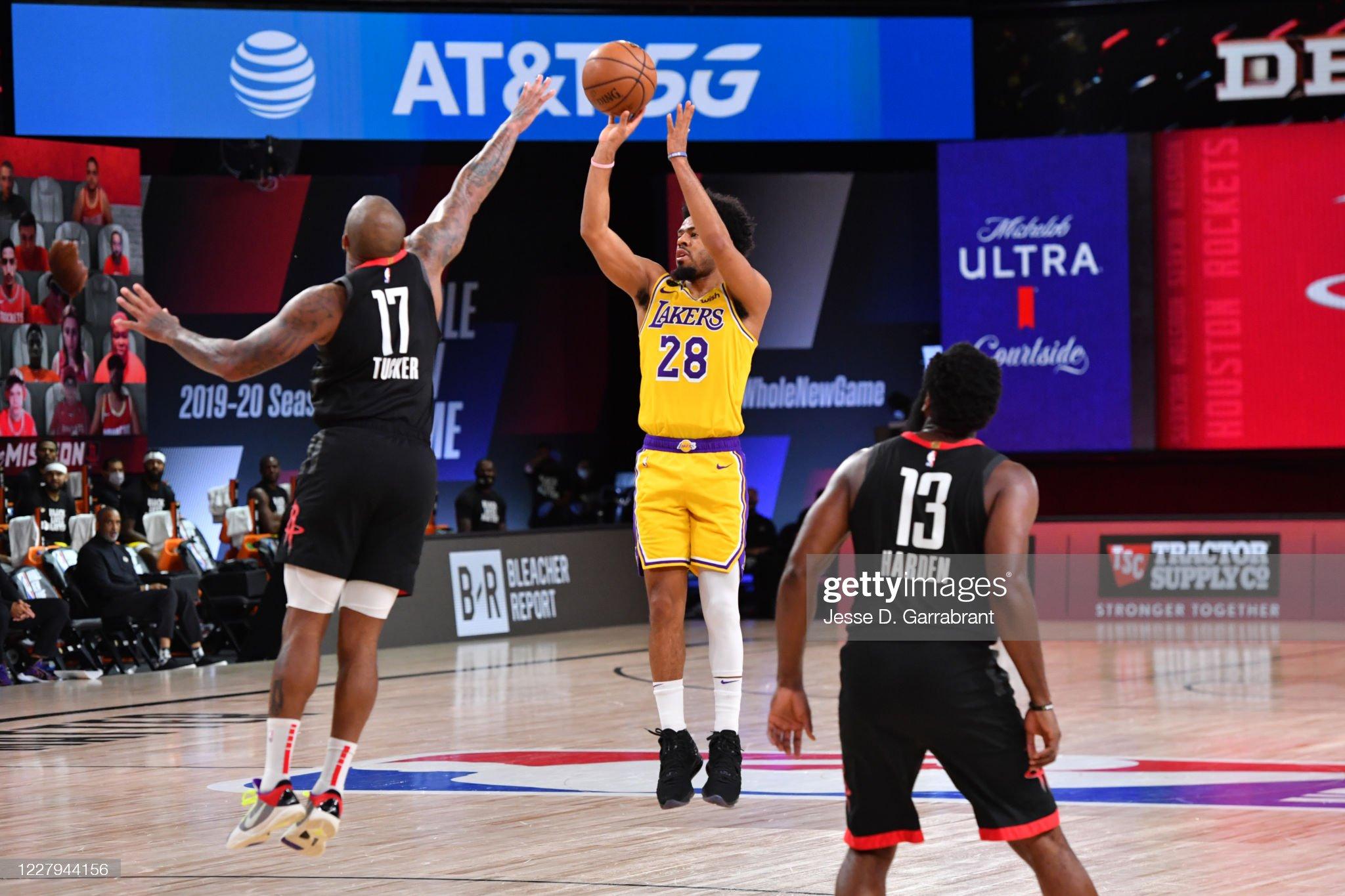 Los Angeles Lakers v Houston Rockets : News Photo
