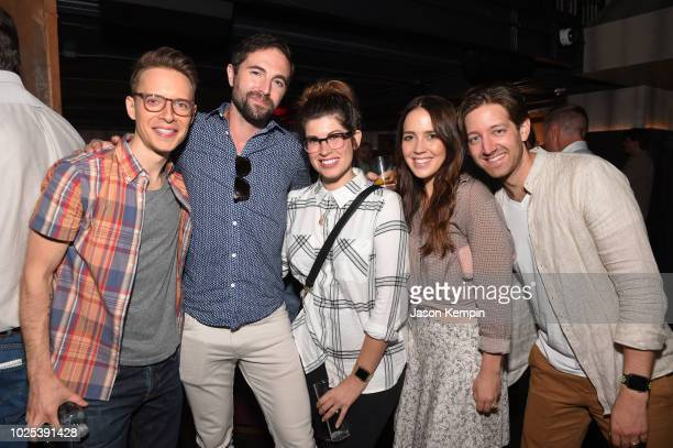 Quinn Lewis David McKay Marisa McKay Cassidy Cole and Chris Cole attend the Nashville Filmmakers Guild ReLaunch Party at Analog at Hutton Hotel on...