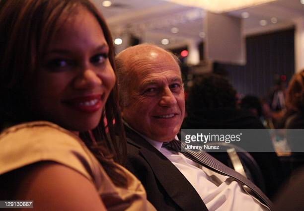 Quinn Rhone and Doug Morris attend the 20th Annual Keeper of the Dream Awards Gala at Sheraton New York Hotel Towers on April 6 2011 in New York City