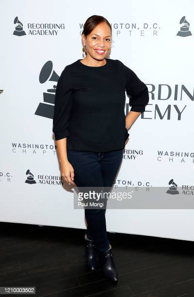 Quinn Rhone attends The Recording Academy Washington DC Chapter's Intersection of Music Sports event at the Kennedy Center on March 02 2020 in...