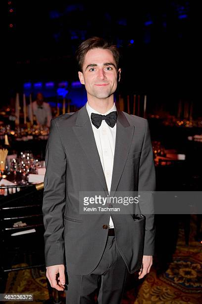 Quinn Tivey attends the 2015 amfAR New York Gala at Cipriani Wall Street on February 11 2015 in New York City