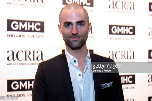 Quinn Tivey attends the 2018 ACRIA Holiday Dinner at The Angel Orensanz Foundation on December 13 2018 in New York City