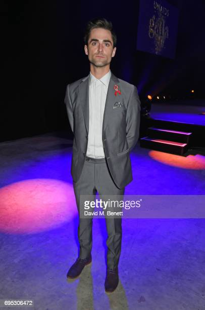 Quinn Tivey attends the UNAIDS Gala during Design Miami / Basel 2017 on June 12 2017 in Basel Switzerland