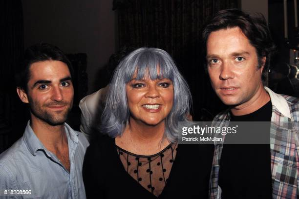 Quinn Tivey Cherry Vanilla and Rufus Wainwright attend Rufus Wainwright and Bryan Rabin host Cherry Vanilla's West Coast Launch of Her Autobiography...