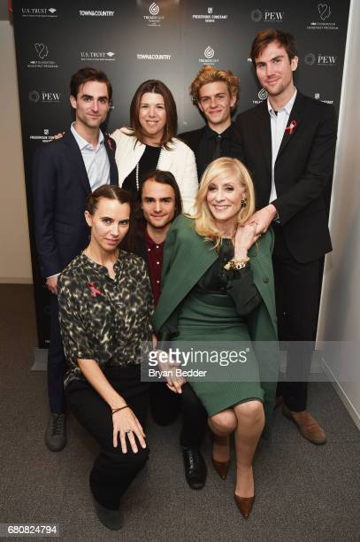 Quinn Tivey Stellene Volandes Finn McMurray Tarquin Wilding Naomi Wilding Rhys Tivey and Judith Light attend the 4th Annual Town Country Philanthropy...
