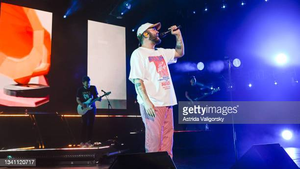 Quinn XCII performs his set during the 'Stay Next to Me' tour at Radio City Music Hall on September 17, 2021 in New York City.