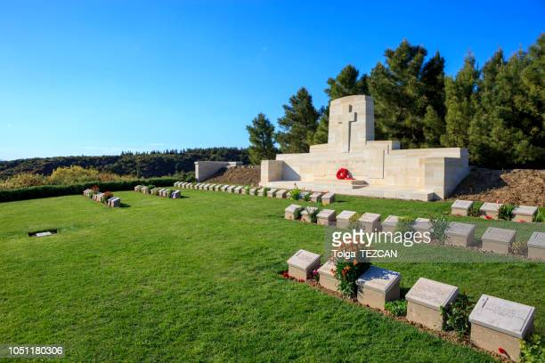 quinn's post cemetery - gallipoli stock pictures, royalty-free photos & images
