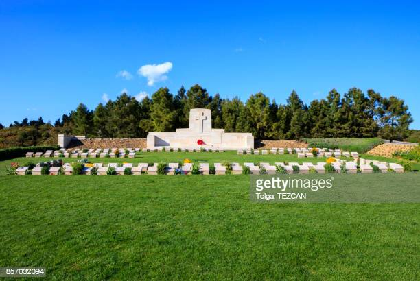 quinn's post cemetery, - anzac cove stock pictures, royalty-free photos & images