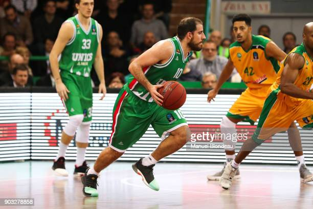 Quino Colom of Kazan during the EuroCup match between Limoges and Unics Kazan at Palais des Sports de Beaublanc on January 9 2018 in Limoges France
