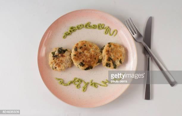 Quinoa and kale veggie burgers