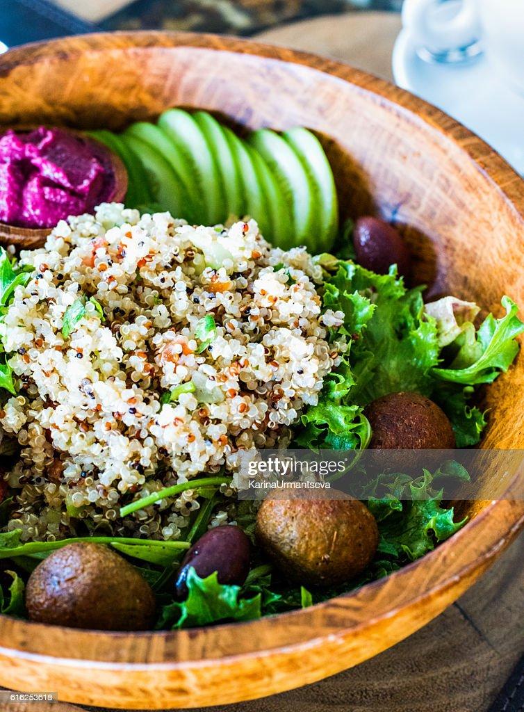 Quinoa bowl : Stock Photo