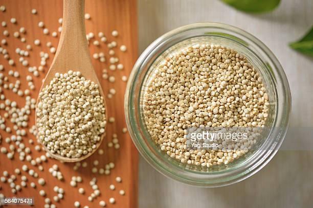 quinoa grain - quinoa stock pictures, royalty-free photos & images