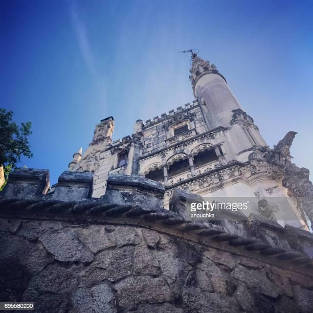 quinta da regaleira in sintra, portugal - quinta da regaleira photos stock pictures, royalty-free photos & images