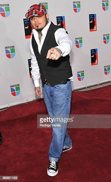 Quintanilla arrives at recording of 'Somos El Mundo' 'We Are The World' by Latin recording artist at American Airlines Arena on February 19 2010 in...
