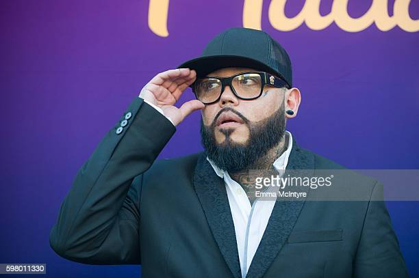 B Quintanilla attends 'Madame Tussauds Hollywood unveils a wax figure of Selena Quintanilla' at Madame Tussauds on August 30 2016 in Hollywood...