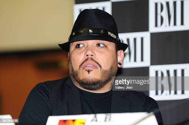 B Quintanilla attends the 'How I Wrote the Song' panel presented by BMI at James L Knight Center on December 11 2009 in Miami Florida