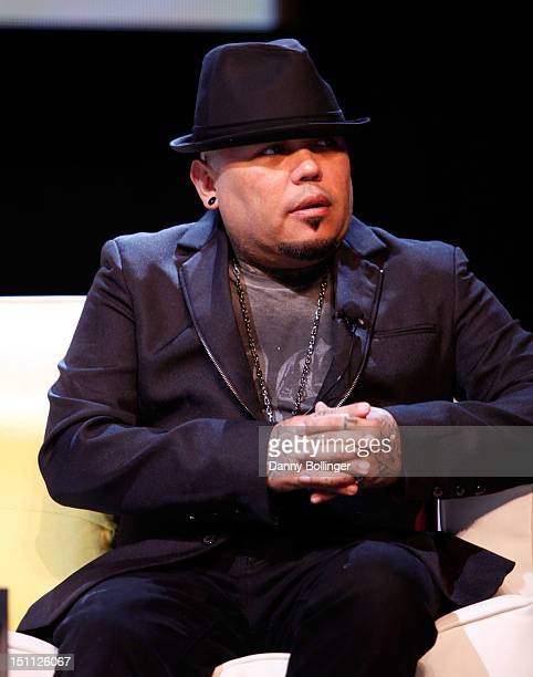 Quintanilla speaks onstage during the 'Selena's Legacy Fotos y Recuerdos A Conversation with the Quintanilla Family' during People En Espanol's...