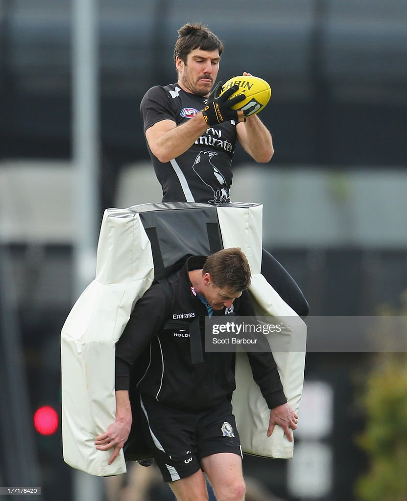 Collingwood Magpies Training Session