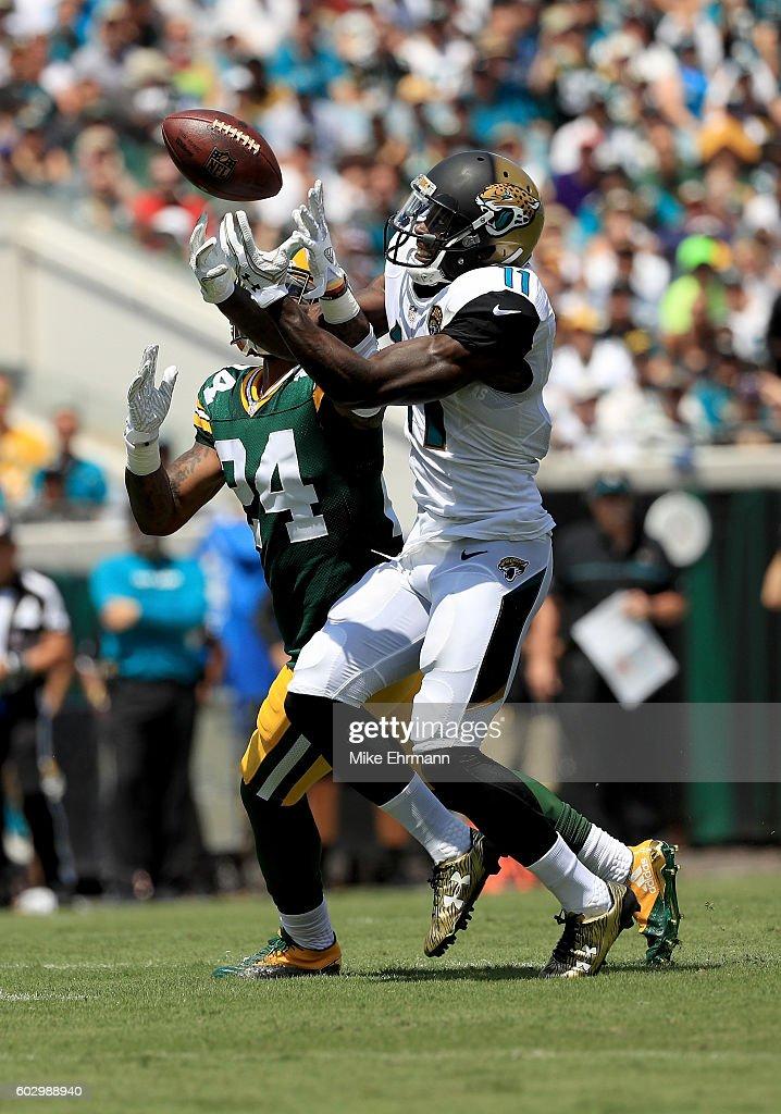 Green Bay Packers v Jacksonville Jaguars : News Photo