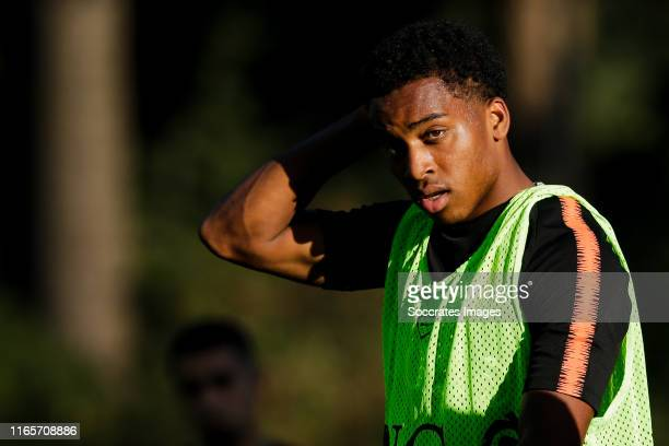 Quinten Timber of Holland U19 during the Training Holland U19 at the KNVB Campus on September 2, 2019 in Zeist Netherlands