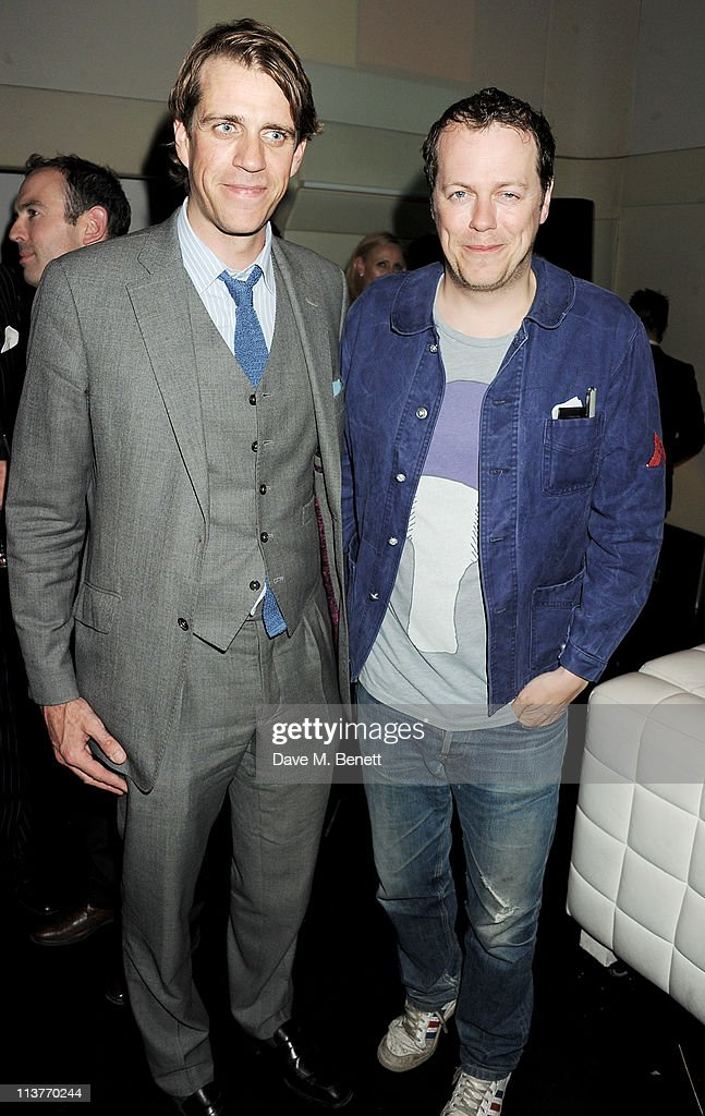 Quintessentially's Ben Elliot (L) and Tom Parker Bowles attend the launch of Esquire Magazine's June issue hosted by the magazine's new editor Alex Bilmes and singer Lily Allen on May 5, 2011 in London, England.