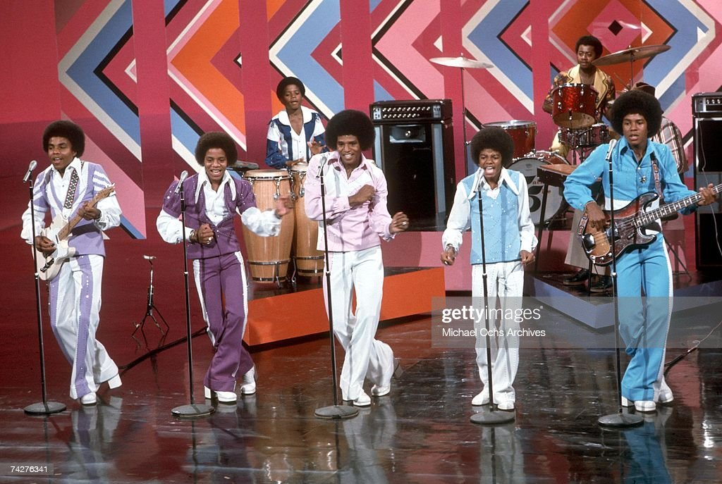 Jackson 5 On A Bob Hope Special : News Photo
