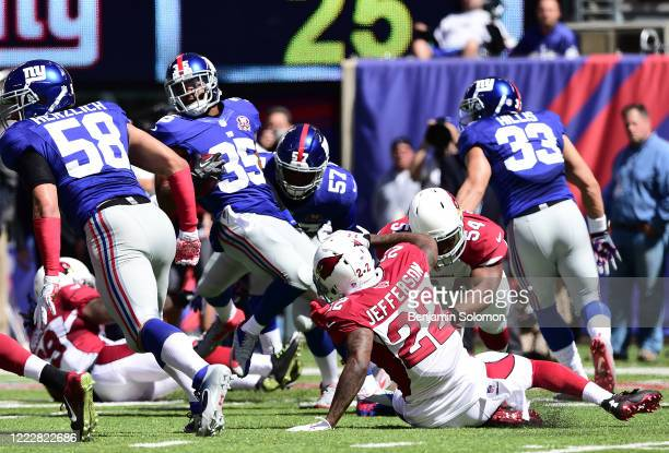 Quintin Demps of the New York Giants at Metlife Stadium on September 14, 2014 in East Rutherford, New Jersey.