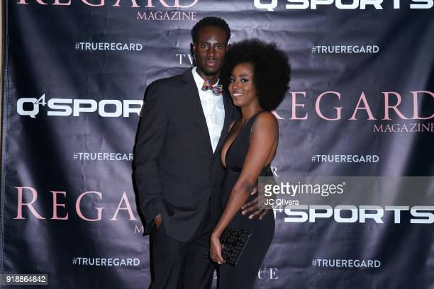 Quintin Williams and wife Kristen Williams attend Regard Magazine 2018 NBA AllStar PreParty hosted by Derek Fisher at Soho House on February 15 2018...