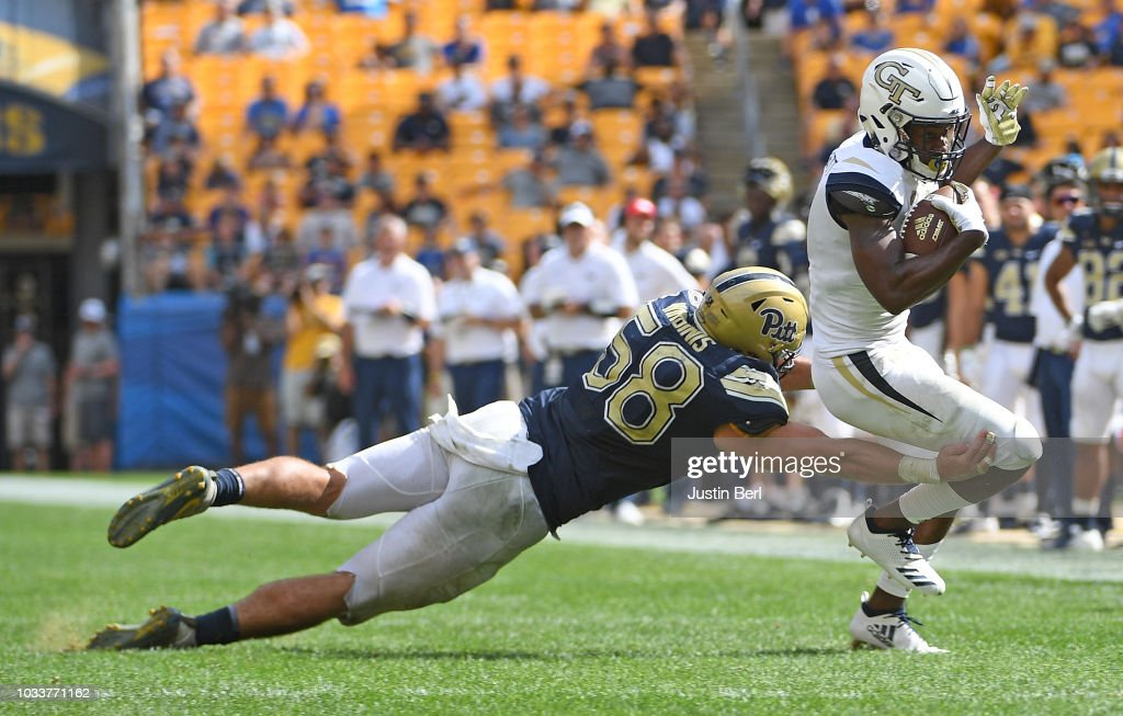Georgia Tech v Pittsburgh : News Photo