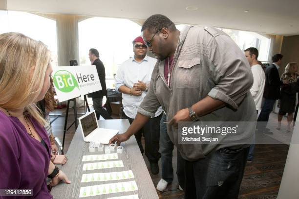 Quinton Aaron at at The Studio At HAVEN360 - Day 2 on February 26, 2011 in West Hollywood, California.
