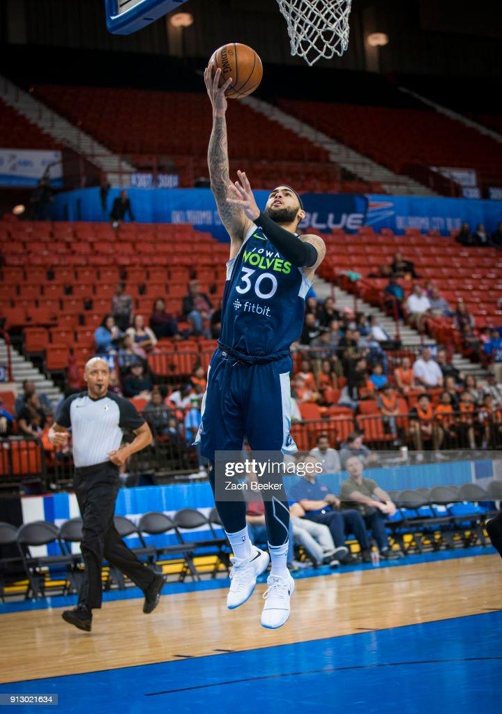 Iowa Wolves v Oklahoma City Blue