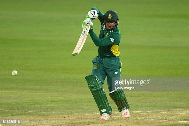 Quinton de Kock of the Proteas during the 1st Momentum ODI Series match between South Africa and Australia at SuperSport Park on September 30 2016 in...