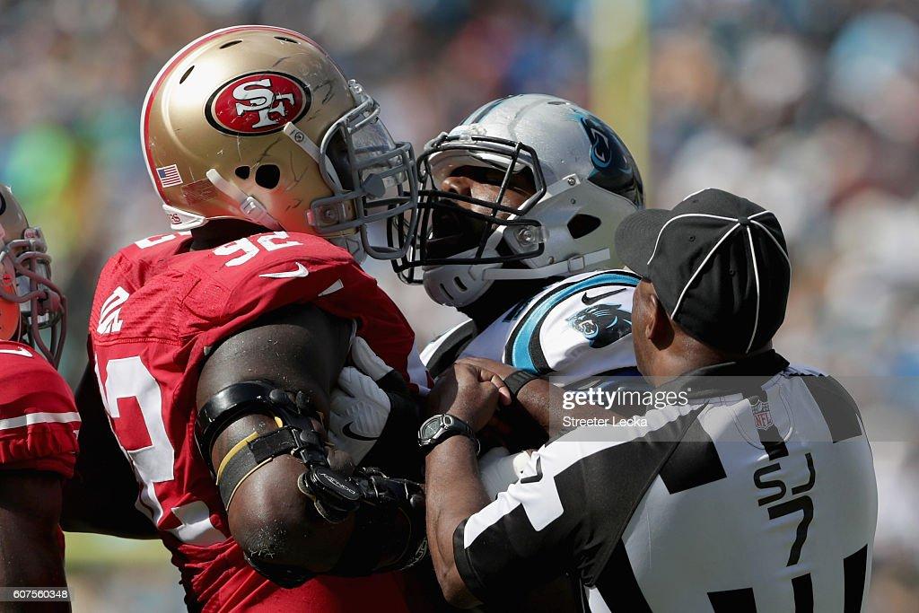 San Francisco 49ers v Carolina Panthers : News Photo