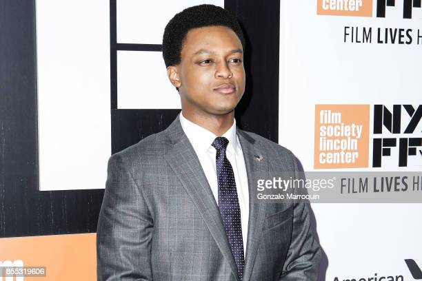 J Quinton Johnson attends the 55th New York Film Festival Opening Night Premiere Of Last Flag Flying at Alice Tully Hall Lincoln Center on September...