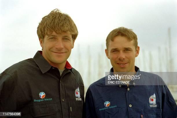 L'équipage Tangui Cariou et Gildas Philippe faisaient parti des postulants à la sélection en équipe de France de voile pour les JO 2000 de Sydney en...