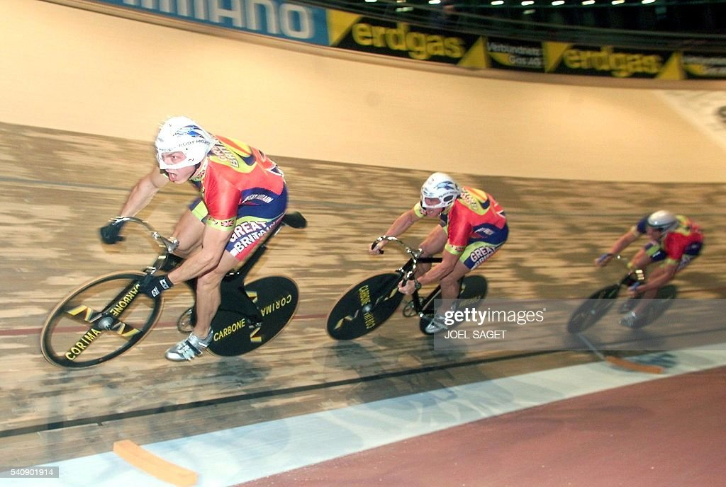CYCLISME-MONDIAL-PISTE-VITESSE-OLYMPIQUE-GB : News Photo
