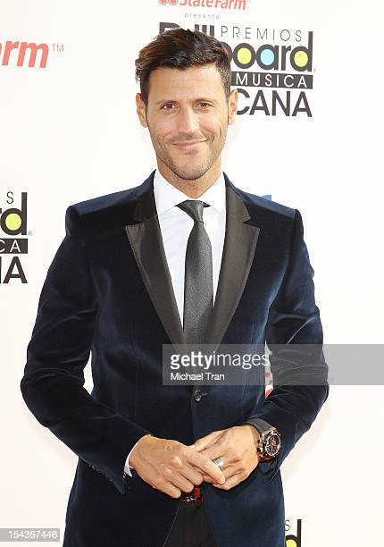 Quique Gonzalez arrives at the 2012 Billboard Mexican Music Awards held at The Shrine Auditorium on October 18 2012 in Los Angeles California